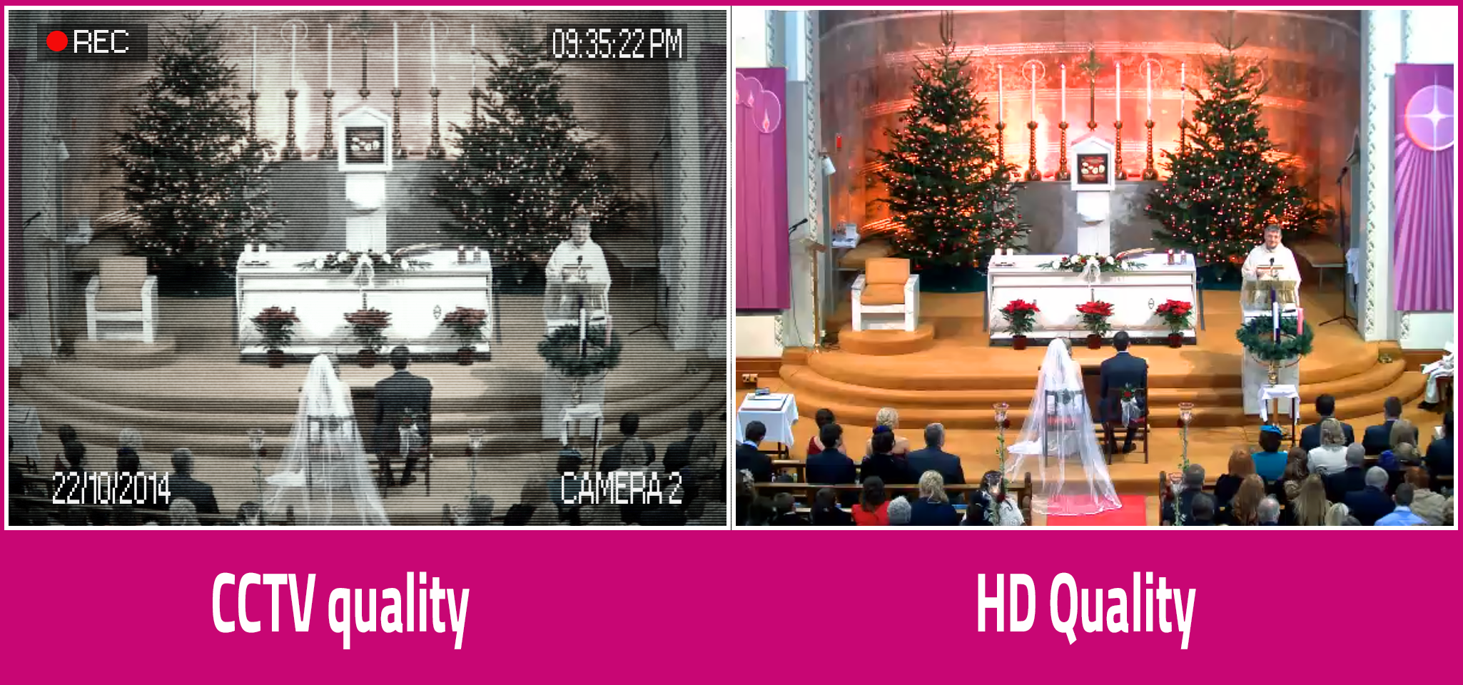 HD Live streaming Church Services