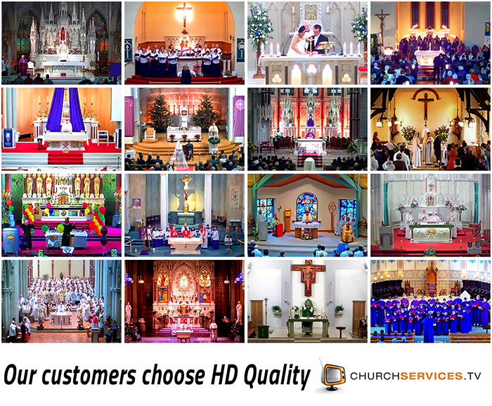 HD Streaming Churches Ireland and UK